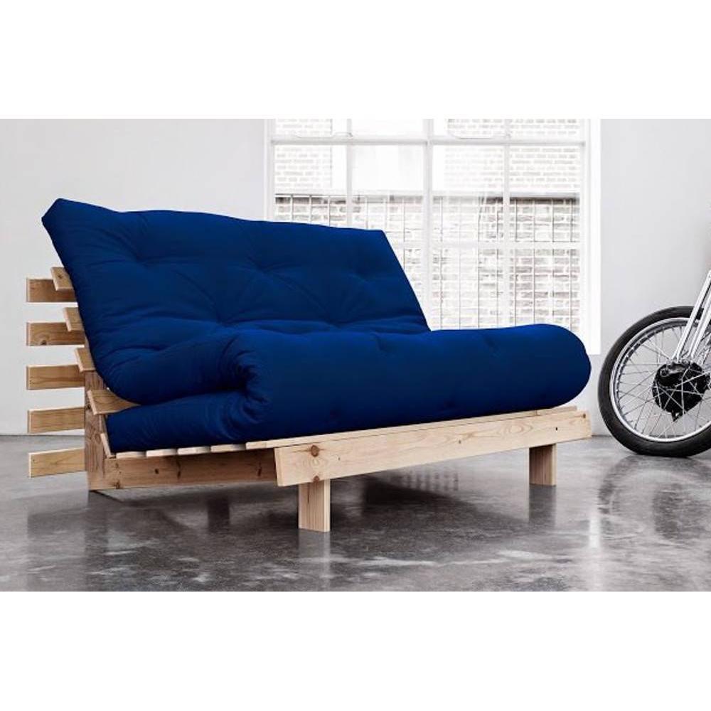 Canap banquette futon convertible au meilleur prix canap bz style scandinave roots natural - Canape futon convertible ...