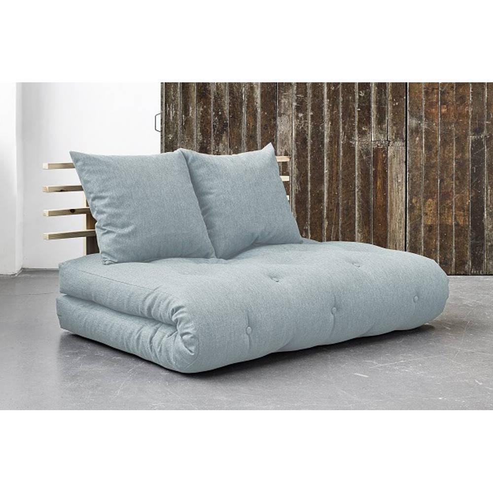 canap convertible au meilleur prix canap lit en pin massif shin sano matelas futon sky blue. Black Bedroom Furniture Sets. Home Design Ideas
