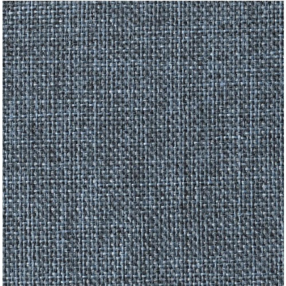 INNOVATION LIVING  Canapé SPLITBACK  CHROME avec accoudoirs tissu convertible lit 115*200 cm tissu Mixed Dance Blue