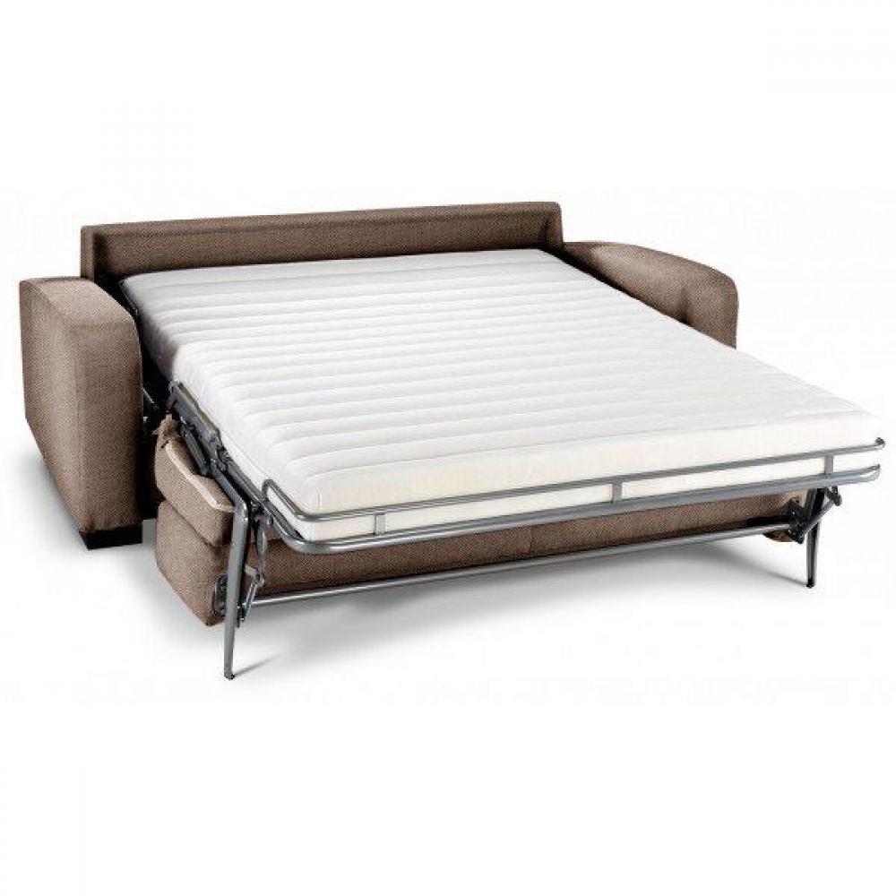 Canapé Convertible DINA MAGNUM MEDIUM Ouverture Assistée Matelas 18 cm 140 x 200 cm