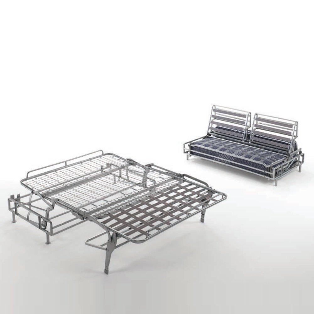 Canapé convertible express EXTRÊME matelas mémory  22 cm métal 120 cm  mono assise