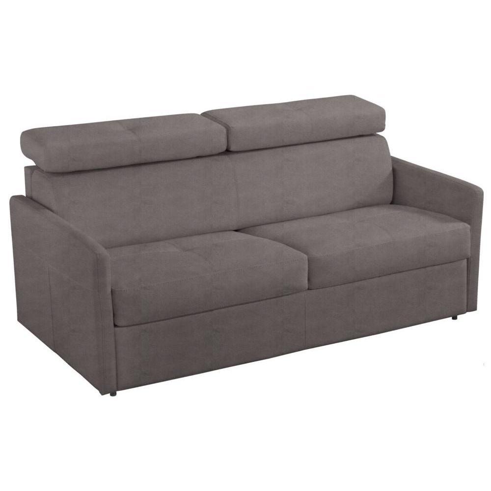 Canapé droit 4 places Tissu Design Confort