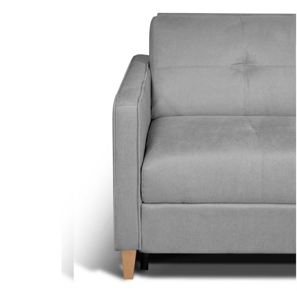 Canapé convertible SCANDINAVE matelas 16 cm système rapido sommier lattes 120cm RENATONISI