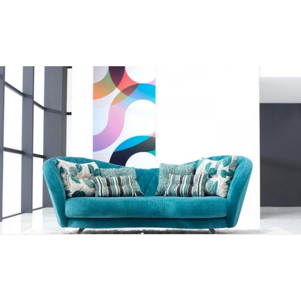 Canap fixe confortable design au meilleur prix fama canap fixe 4 pla - Canape 4 fois sans frais ...