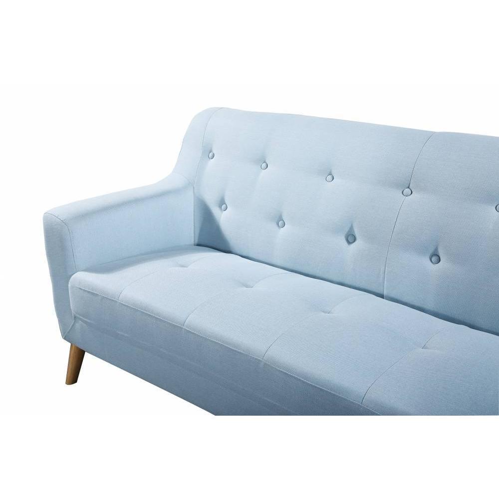 canap fixe confortable design au meilleur prix canap 2 places style scandinave bagnolo. Black Bedroom Furniture Sets. Home Design Ideas