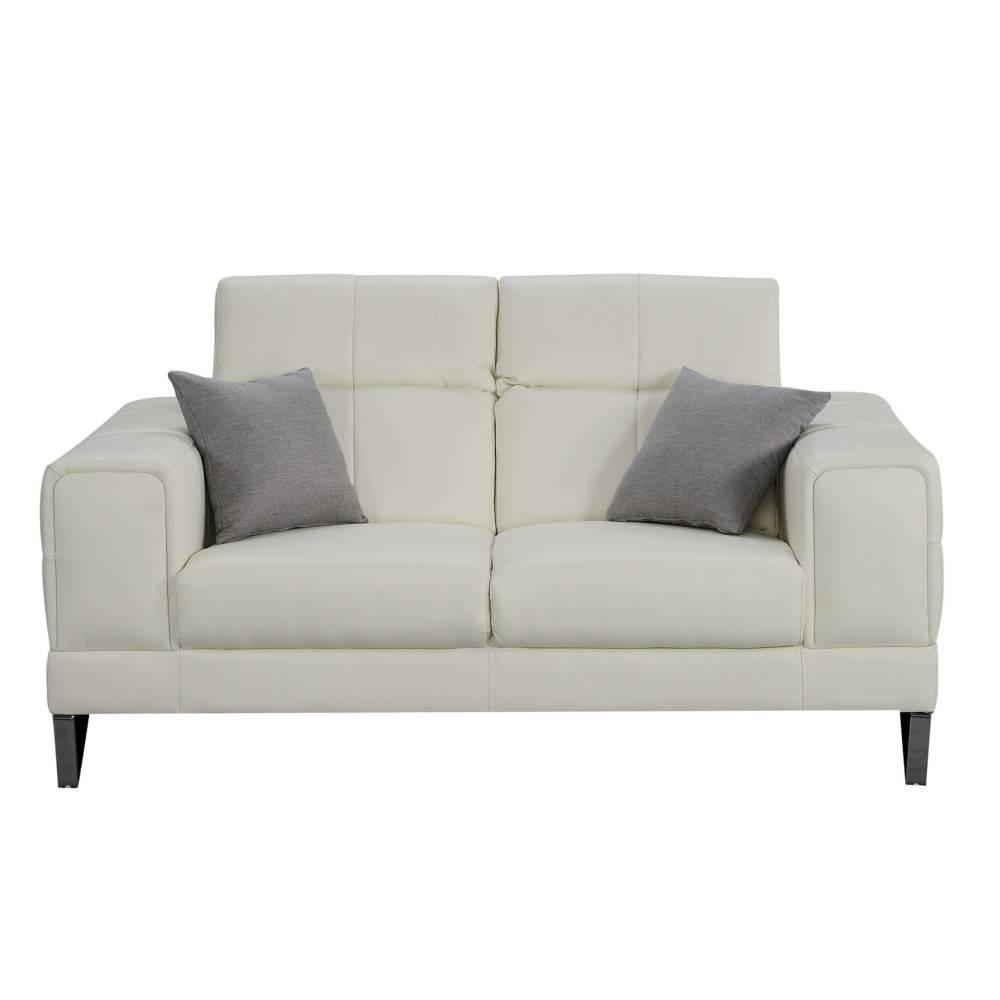 Canapé fixe confortable & design au meilleur prix Canapé 2 places