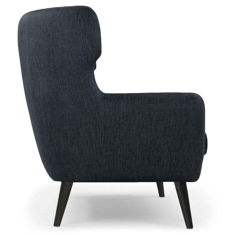 Canap fixe confortable design au meilleur prix canap fixe 3 places d - Canape fixe 3 places tissu ...