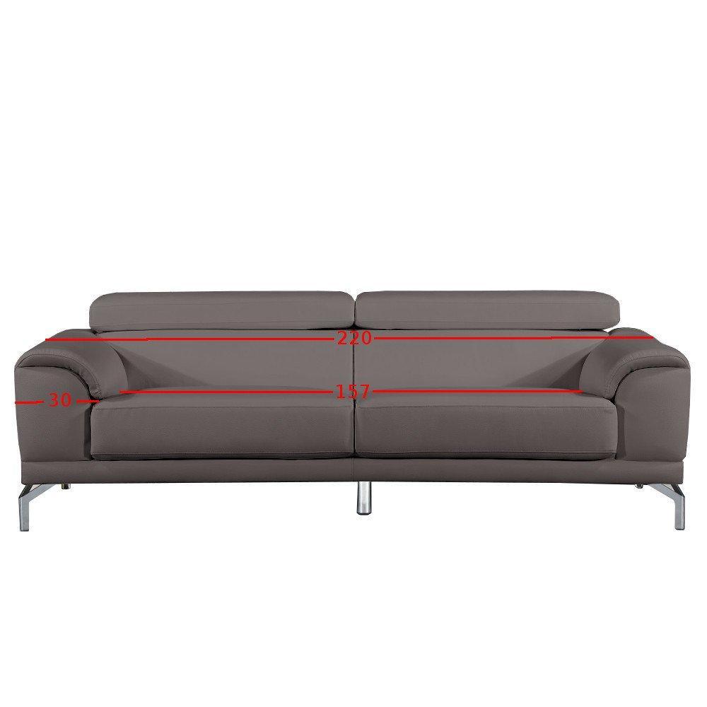 canap fixe confortable design au meilleur prix canap 3 places en cuir bassona cuir vachette. Black Bedroom Furniture Sets. Home Design Ideas