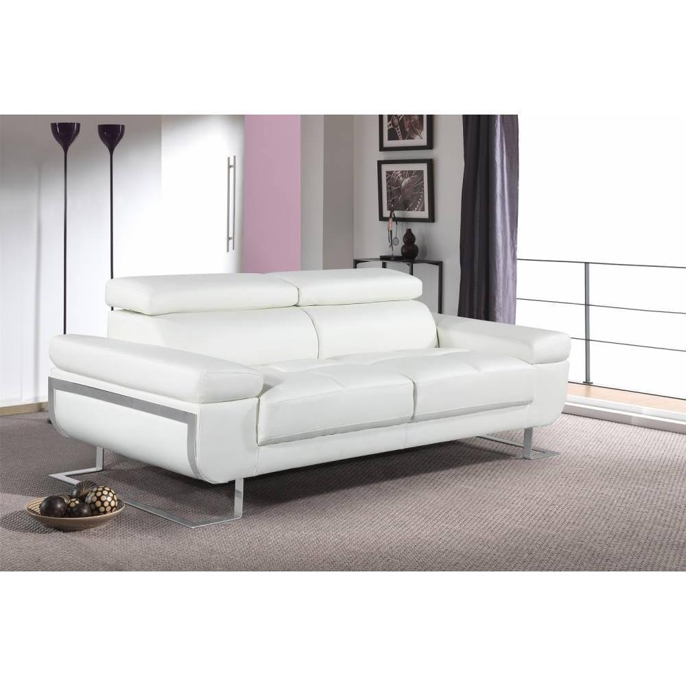 canap fixe confortable design au meilleur prix canap 3 places en cuir fratta cuir vachette. Black Bedroom Furniture Sets. Home Design Ideas