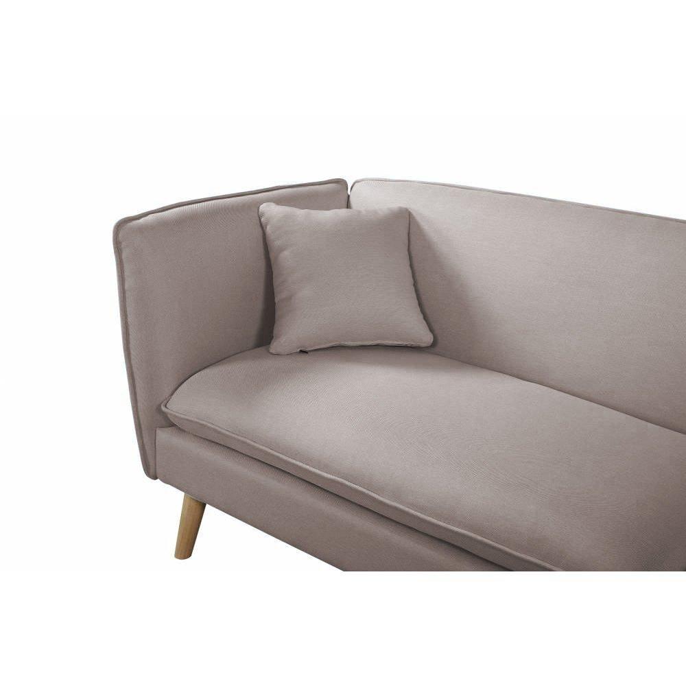 canap design en cuir ou tissu au meilleur prix canap mima 3 places plus pouf modulable en. Black Bedroom Furniture Sets. Home Design Ideas