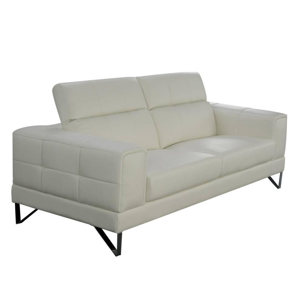canap fixe confortable design au meilleur prix canap 3 places en cuir recycl ronco cuir. Black Bedroom Furniture Sets. Home Design Ideas