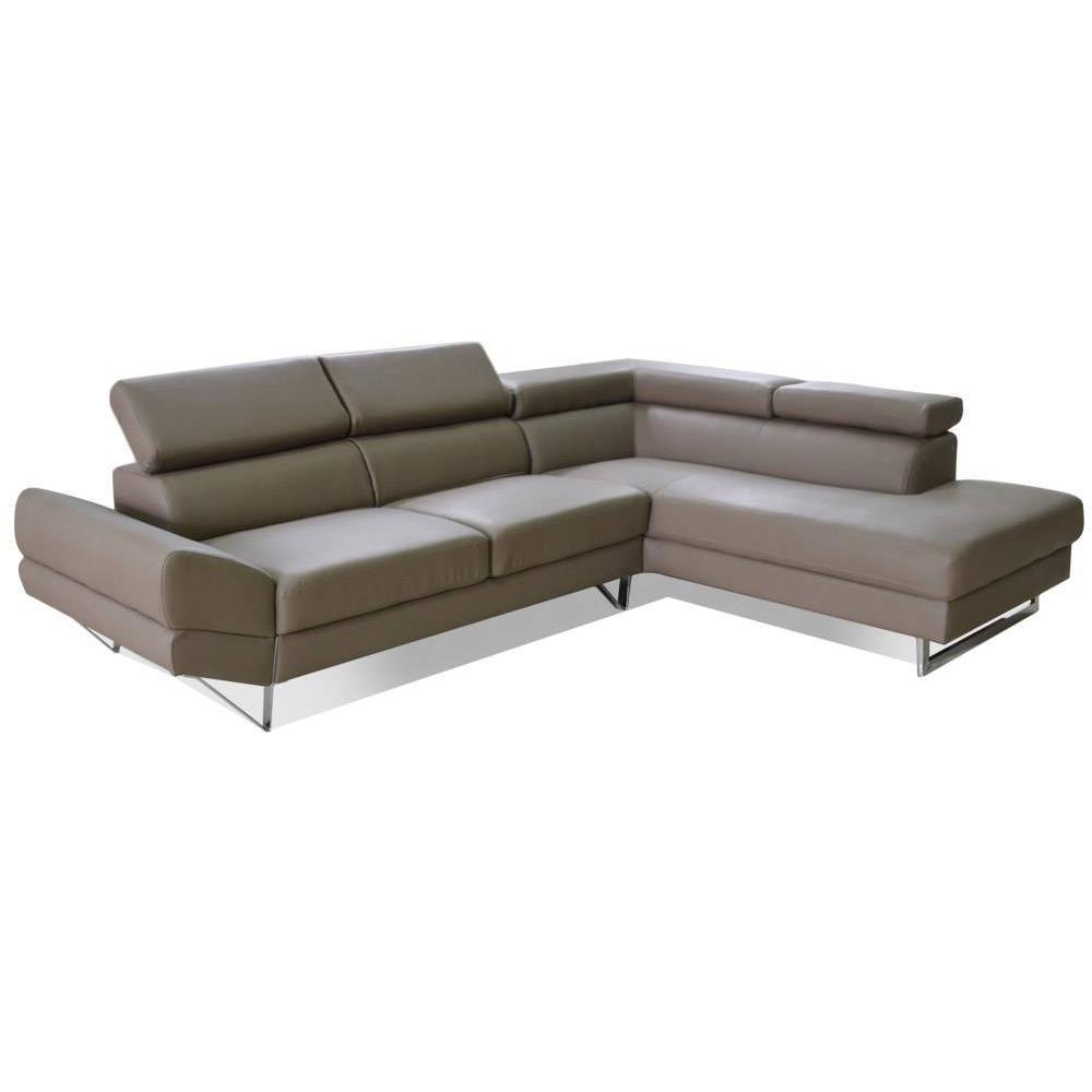 canap d 39 angle moderne et classique au meilleur prix canap d 39 angle droite fixe venise cuir. Black Bedroom Furniture Sets. Home Design Ideas