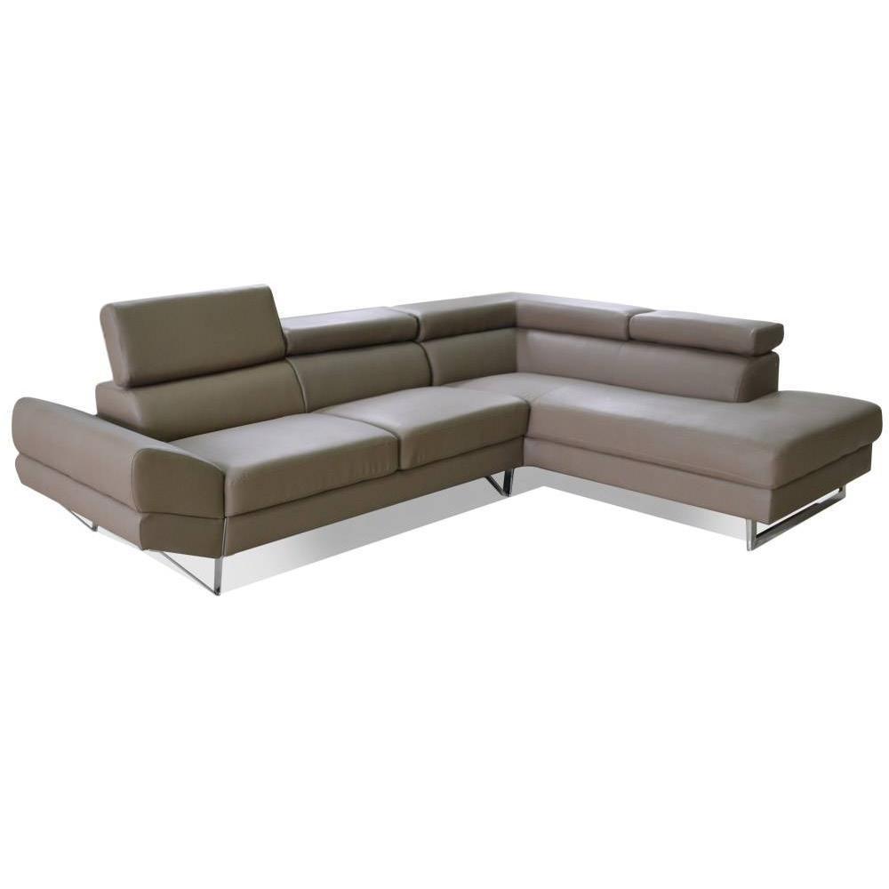 canap fixe confortable design au meilleur prix canap d 39 angle droite fixe venise cuir. Black Bedroom Furniture Sets. Home Design Ideas