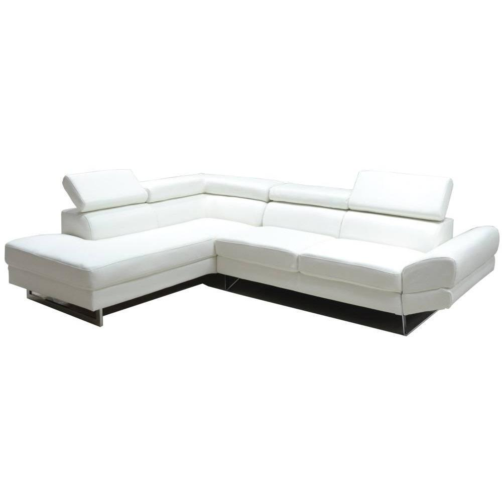 canap d 39 angle moderne et classique au meilleur prix canap d 39 angle gauche fixe venise cuir. Black Bedroom Furniture Sets. Home Design Ideas