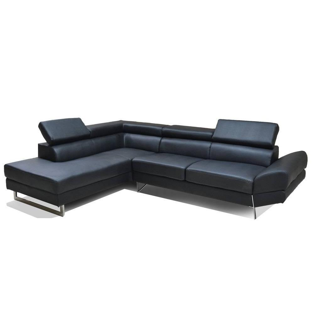 canap d 39 angle moderne et classique au meilleur prix canap d 39 angle gauche fixe venise cuir co. Black Bedroom Furniture Sets. Home Design Ideas