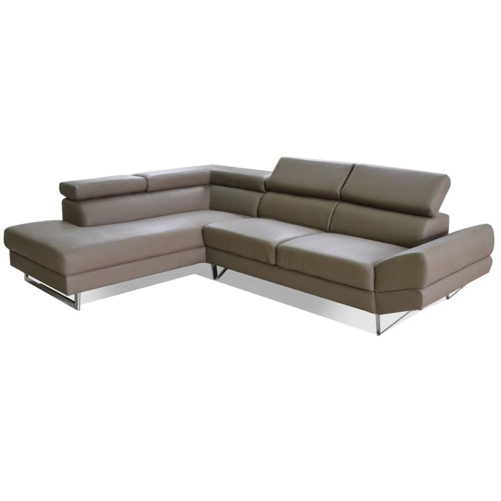 Canap s rapido convertibles design armoires lit - Canape d angle taupe ...