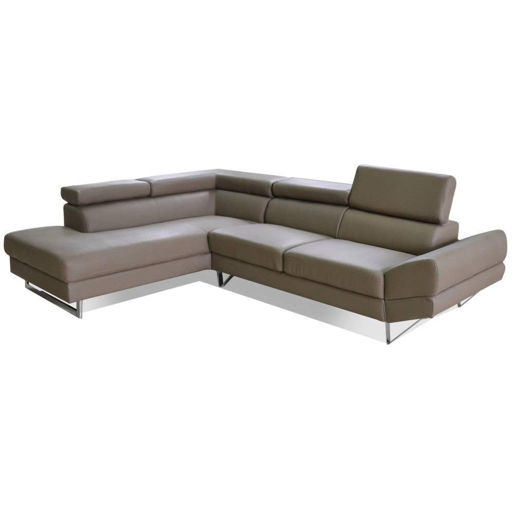 canap fixe confortable design au meilleur prix canap d 39 angle gauche fixe venise cuir. Black Bedroom Furniture Sets. Home Design Ideas