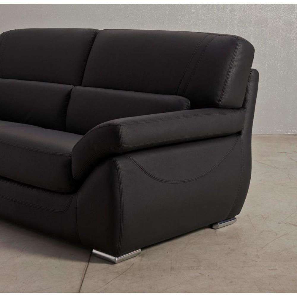 canap fixe confortable design au meilleur prix canap fixe cannes 3 places inside75. Black Bedroom Furniture Sets. Home Design Ideas