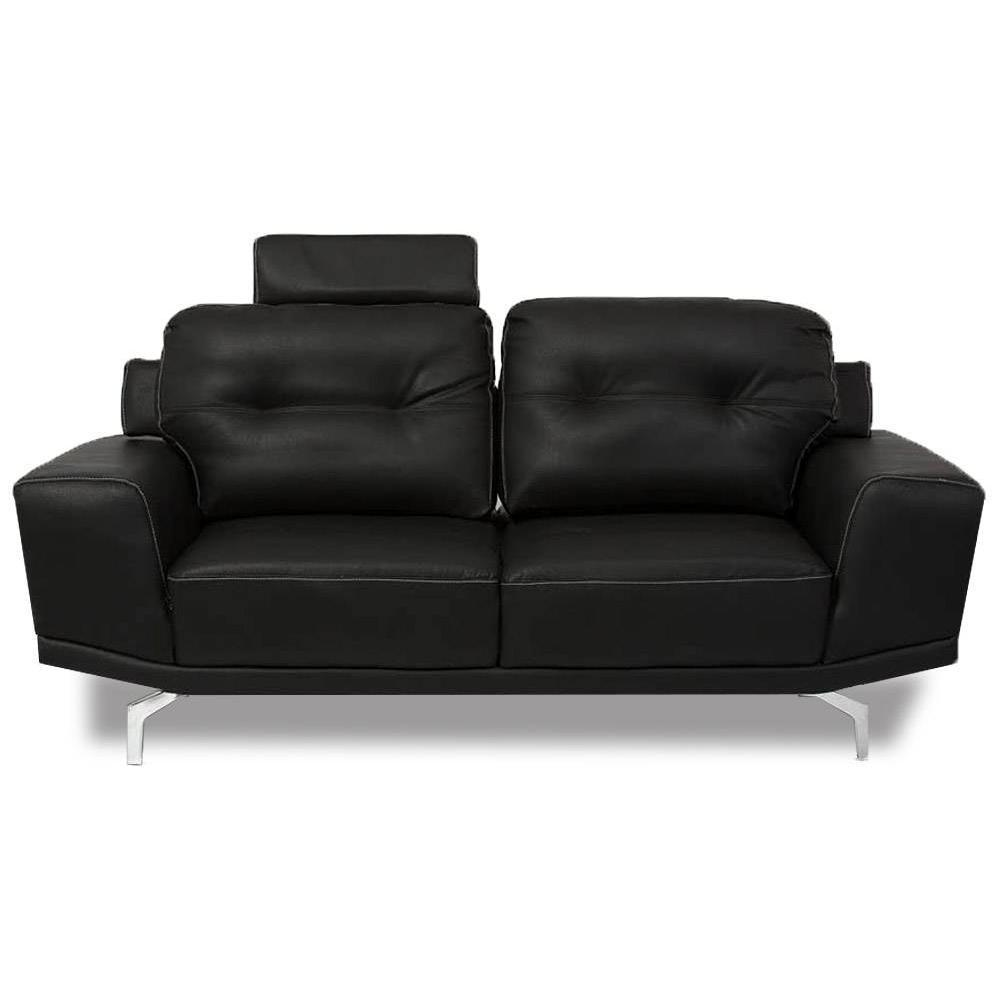 canap convertible au meilleur prix canap fixe relax capitonn cesena 3 places cuir recycl. Black Bedroom Furniture Sets. Home Design Ideas