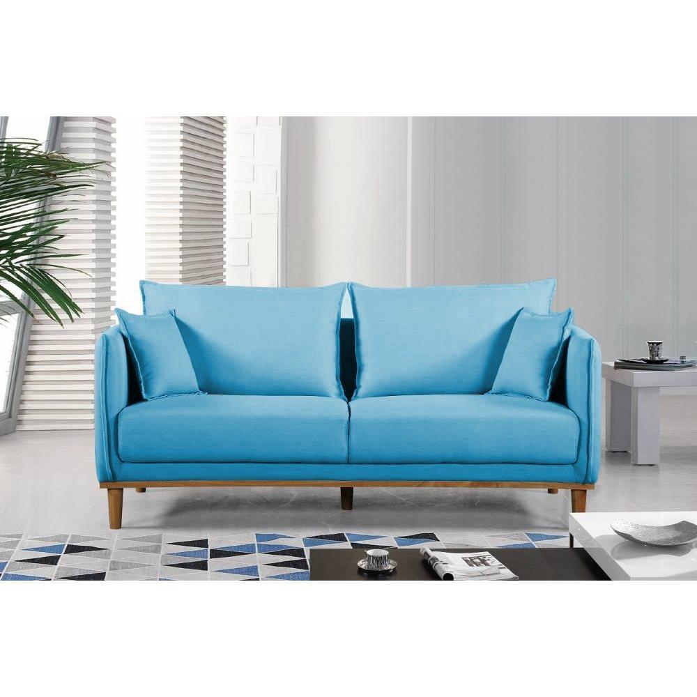 canap design en cuir ou tissu au meilleur prix canap 3 places style scandinave lizzano tissu. Black Bedroom Furniture Sets. Home Design Ideas