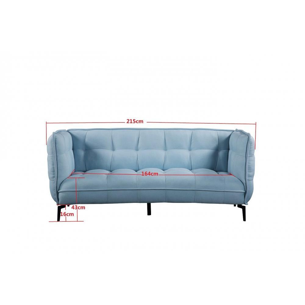 Canap fixe confortable design au meilleur prix canap 3 places style - Canapes fixes 3 places ...