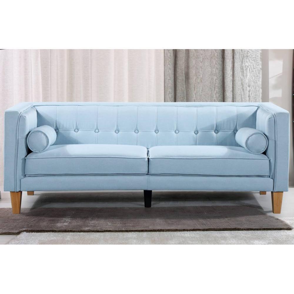 canap fixe confortable design au meilleur prix canap 3 places style scandinave piavola. Black Bedroom Furniture Sets. Home Design Ideas