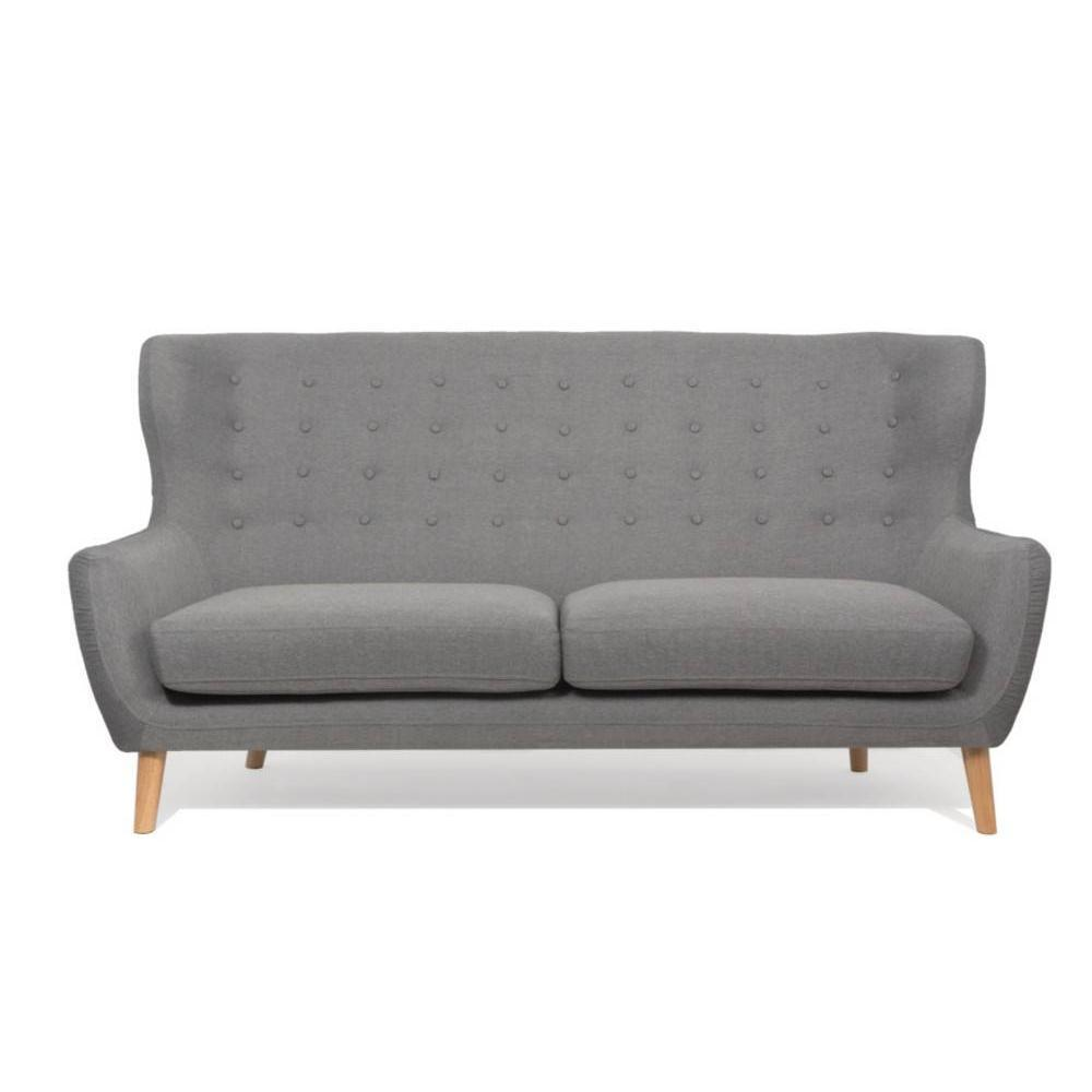 canap fixe confortable design au meilleur prix canap scandinave perfekt 3 places gris. Black Bedroom Furniture Sets. Home Design Ideas
