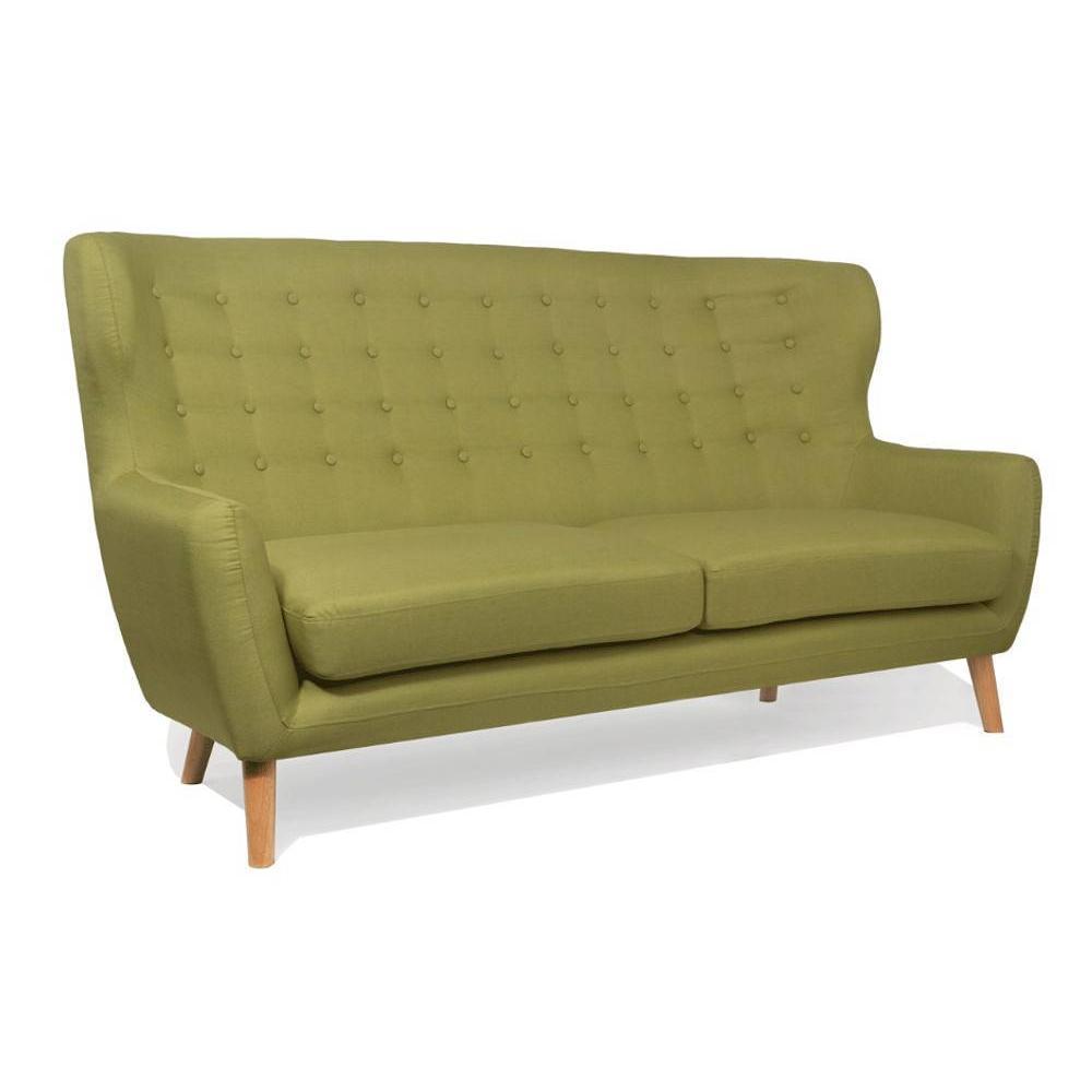 canap design style scandinave au meilleur prix canap scandinave perfekt 3 places vert lime. Black Bedroom Furniture Sets. Home Design Ideas