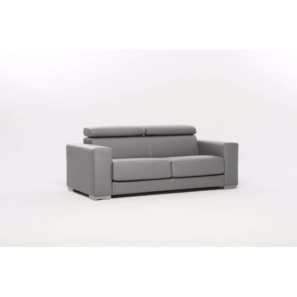 canap convertible ouverture express au meilleur prix canap convertible expresso tissu gris. Black Bedroom Furniture Sets. Home Design Ideas