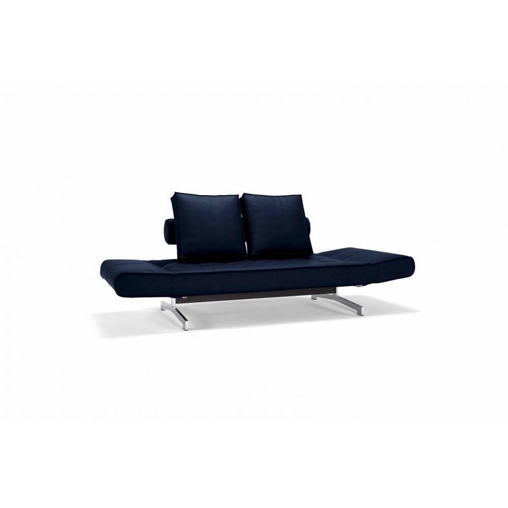 canap convertible au meilleur prix canap design ghia chrome convertible lit 210 80cm inside75. Black Bedroom Furniture Sets. Home Design Ideas