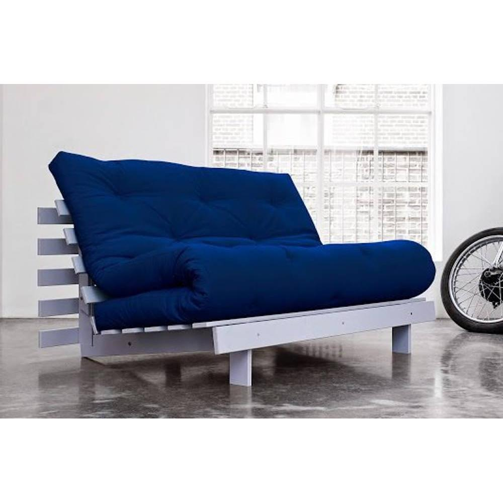 canap convertible au meilleur prix canap bz gris roots white futon bleu royal couchage 140. Black Bedroom Furniture Sets. Home Design Ideas