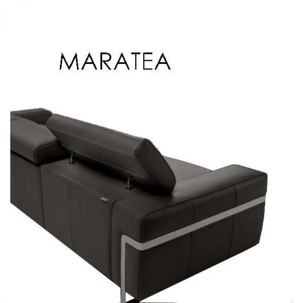 canap fixe confortable design au meilleur prix canap haut de gamme 4 places maratea tissu. Black Bedroom Furniture Sets. Home Design Ideas