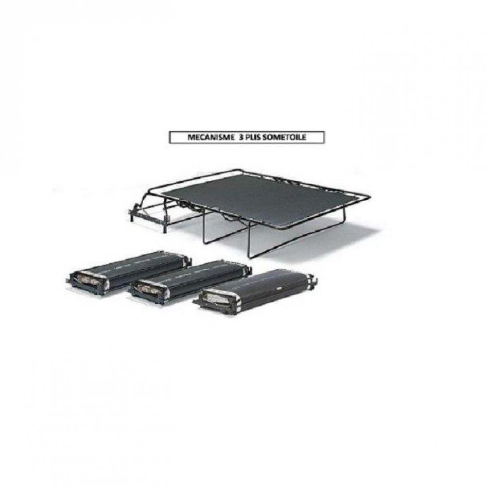 Canapé lit  convertible SOFIA matelas BULTEX 133*183*6 cm ouverture RAPIDO