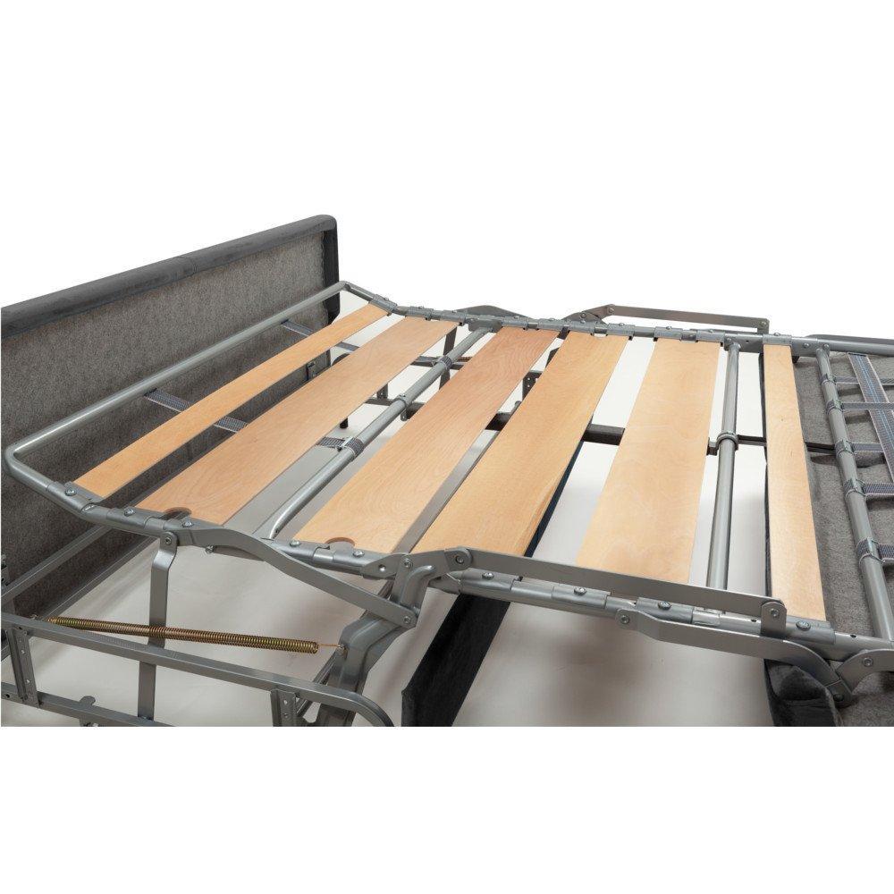 MARSEILLE divano convertibile sistema letto RAPIDO RENATONISI rete a doghe materasso 15cm