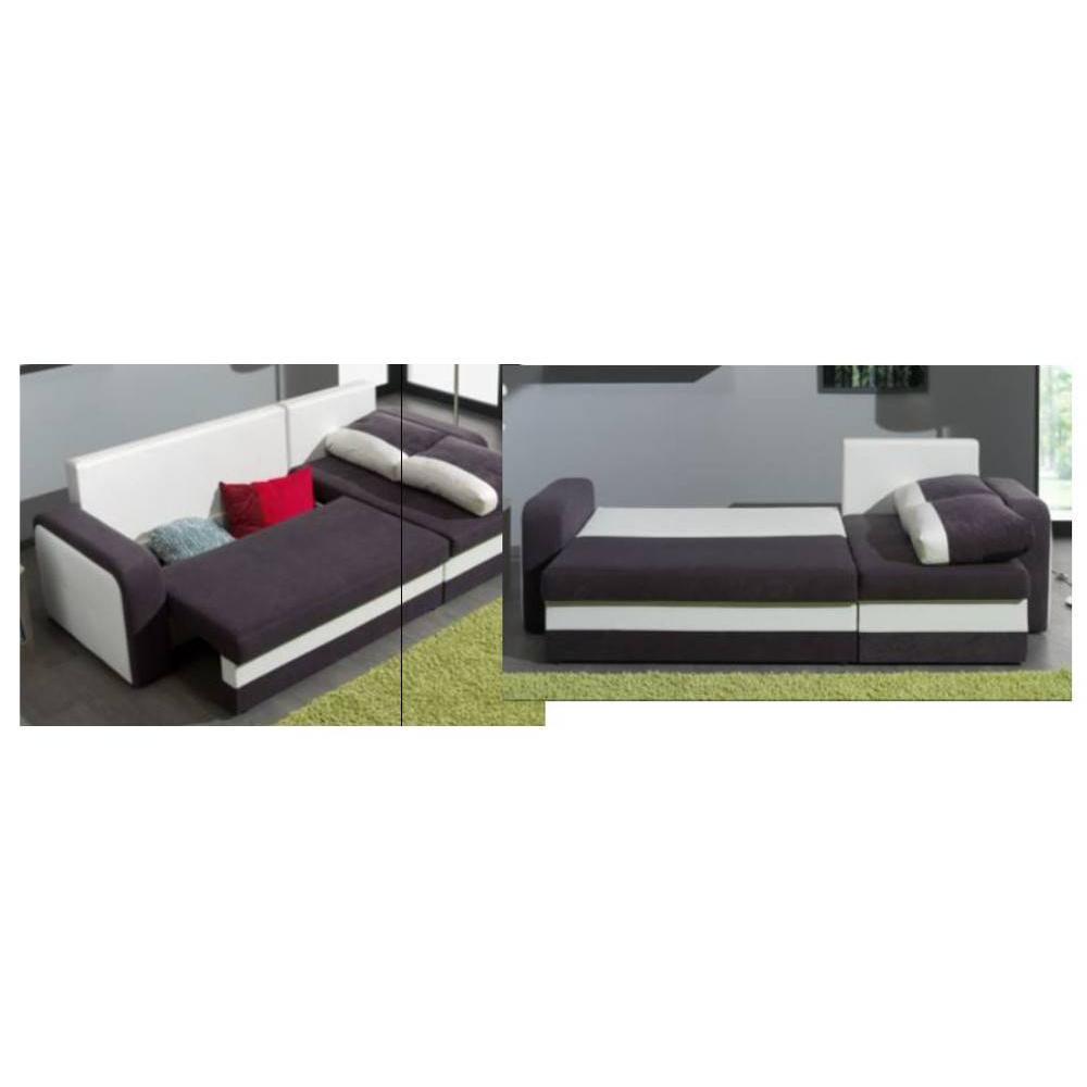 canap convertible au meilleur prix canap d 39 angle convertible rapido nyx 140cm bi mati re gris. Black Bedroom Furniture Sets. Home Design Ideas