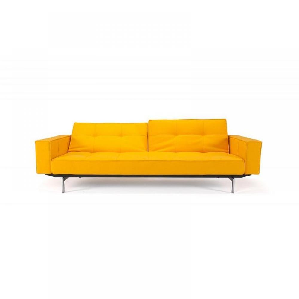 canap s ouverture express canape design oz jaune innovation convertible lit 200 115cm inside75. Black Bedroom Furniture Sets. Home Design Ideas