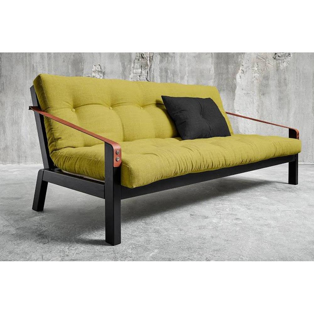 canap banquette futon convertible au meilleur prix canap noir 3 4 places convertible poetry. Black Bedroom Furniture Sets. Home Design Ideas