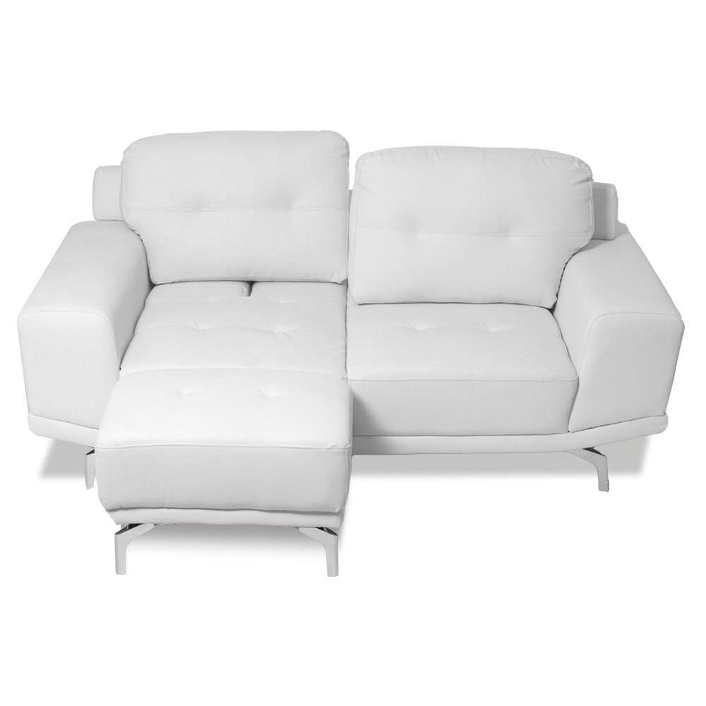 canap convertible au meilleur prix canap fixe et pouf relax capitonn cesena 2 places tissu. Black Bedroom Furniture Sets. Home Design Ideas