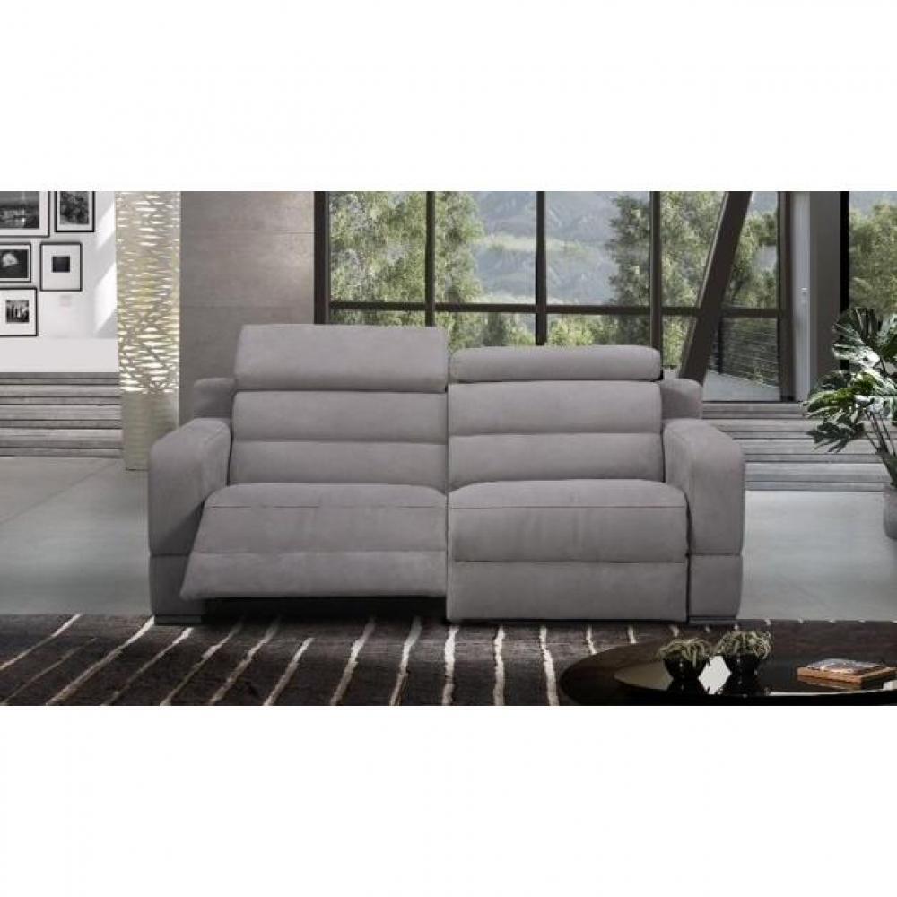 Canapé relax électrique en cuir ou tissu au meilleur prix