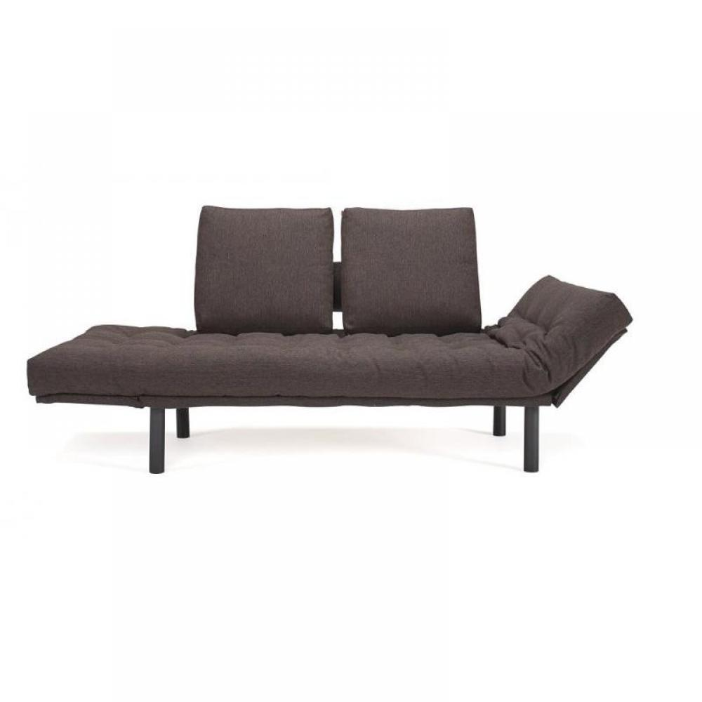 canap s rapido canap design rollo marron fonc convertible lit 200 80 inside75. Black Bedroom Furniture Sets. Home Design Ideas