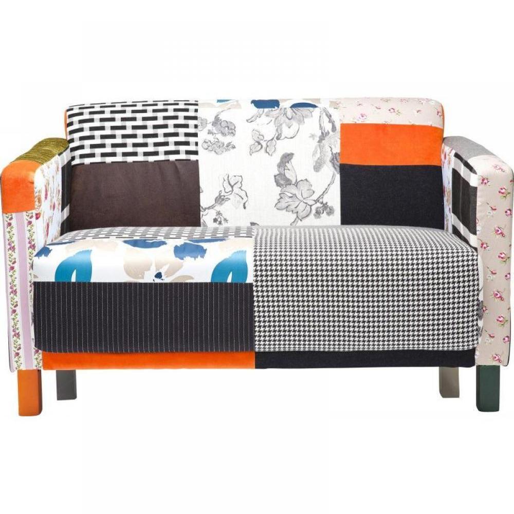 canap fixe confortable design au meilleur prix sunny canap fixe vintage patchwork inside75. Black Bedroom Furniture Sets. Home Design Ideas