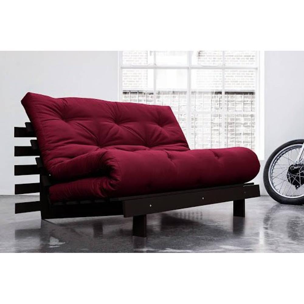 Canap convertible au meilleur prix canap bz weng roots wengue futon borde - Canape convertible bz ...