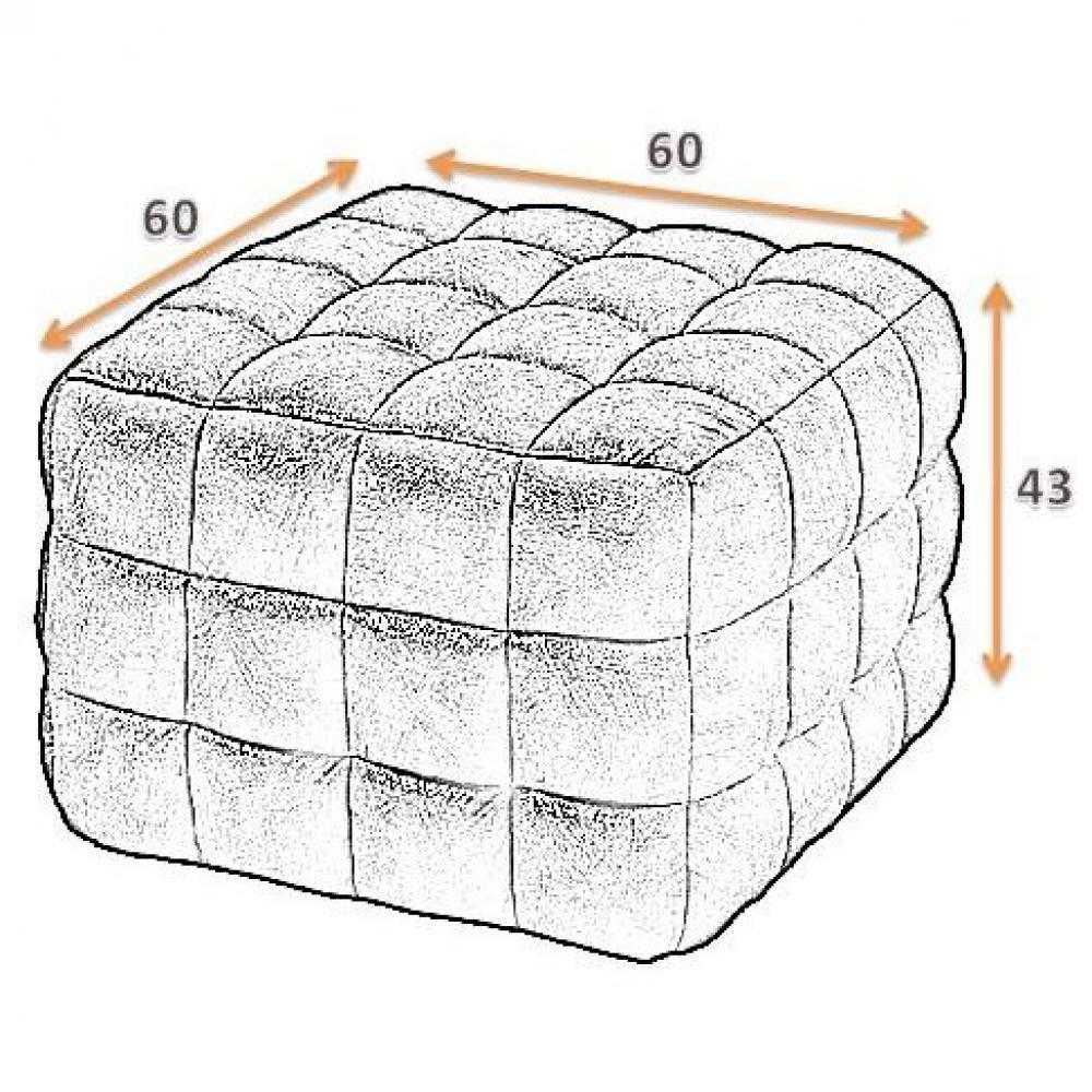 fauteuils et poufs canap s ouverture express pouf design capiton blanc inside75. Black Bedroom Furniture Sets. Home Design Ideas
