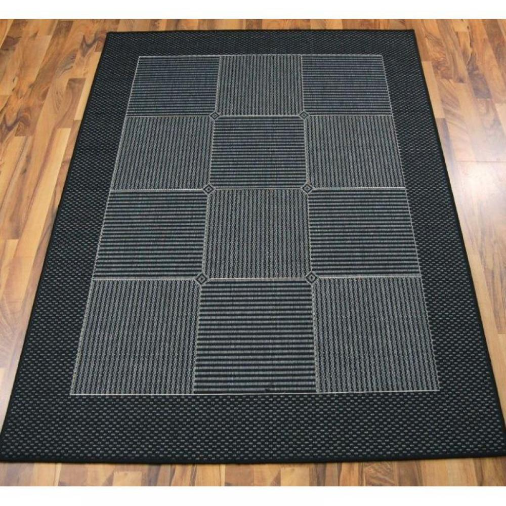 tapis de sol meubles et rangements carpetto tapis gris bleu fonc 200x290 cm inside75. Black Bedroom Furniture Sets. Home Design Ideas
