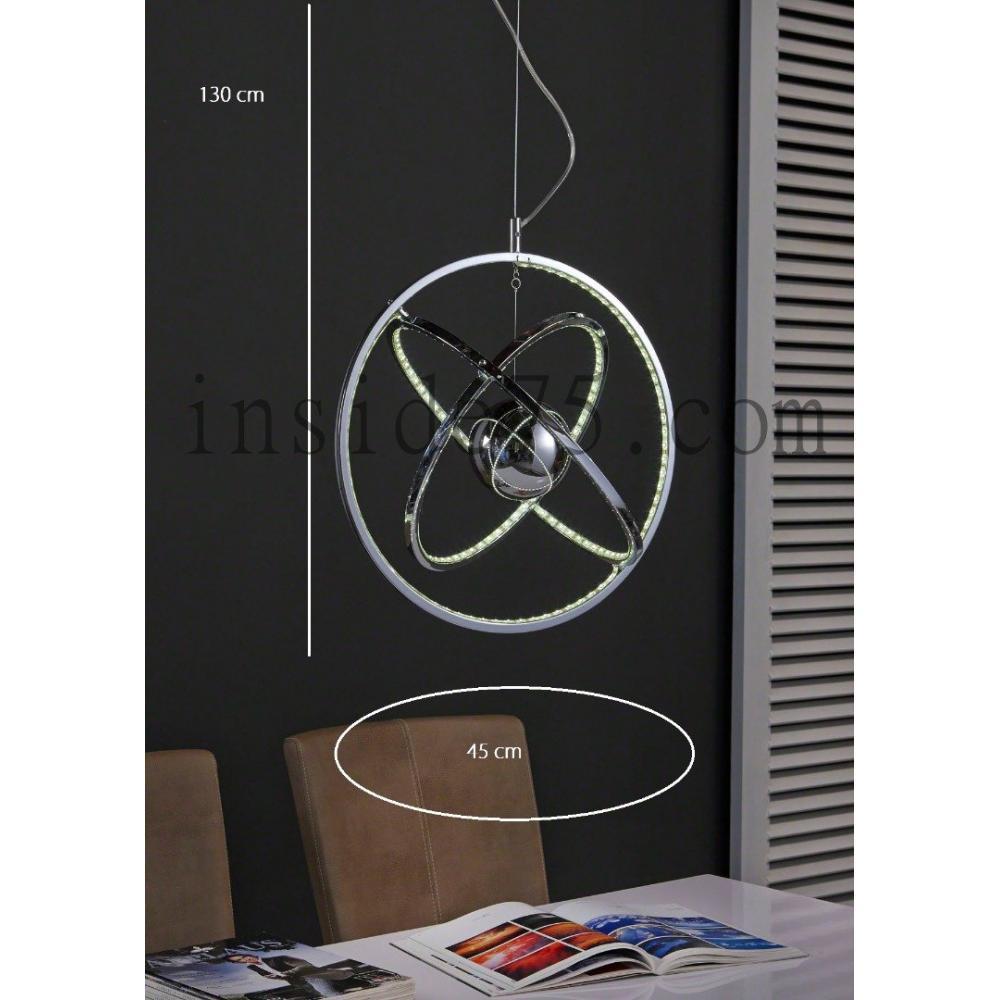 luminaires luminaires suspension design cercle multi. Black Bedroom Furniture Sets. Home Design Ideas