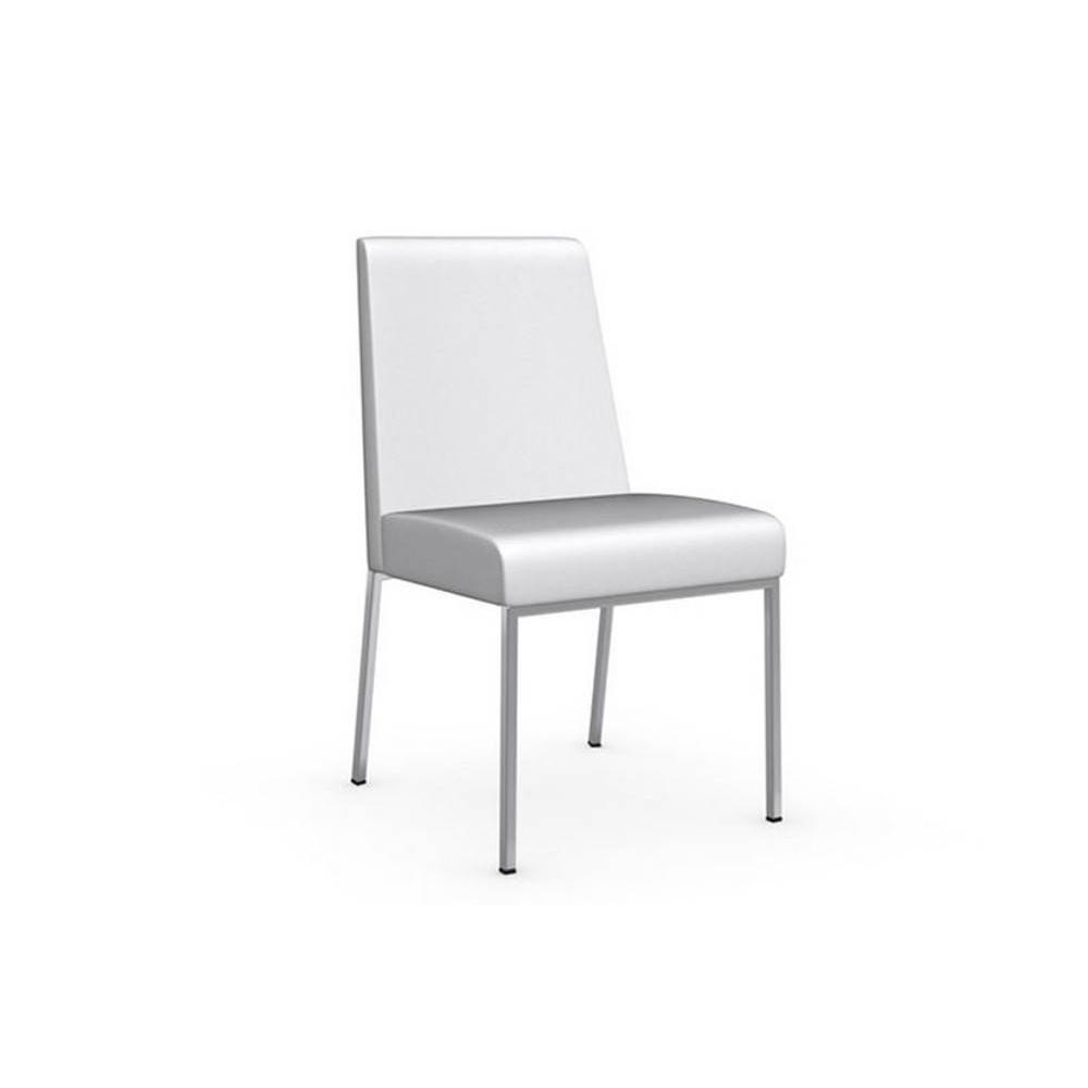 Chaise design ergonomique et stylis e au meilleur prix chaise amsterdam pi t - Chaises simili cuir blanc ...