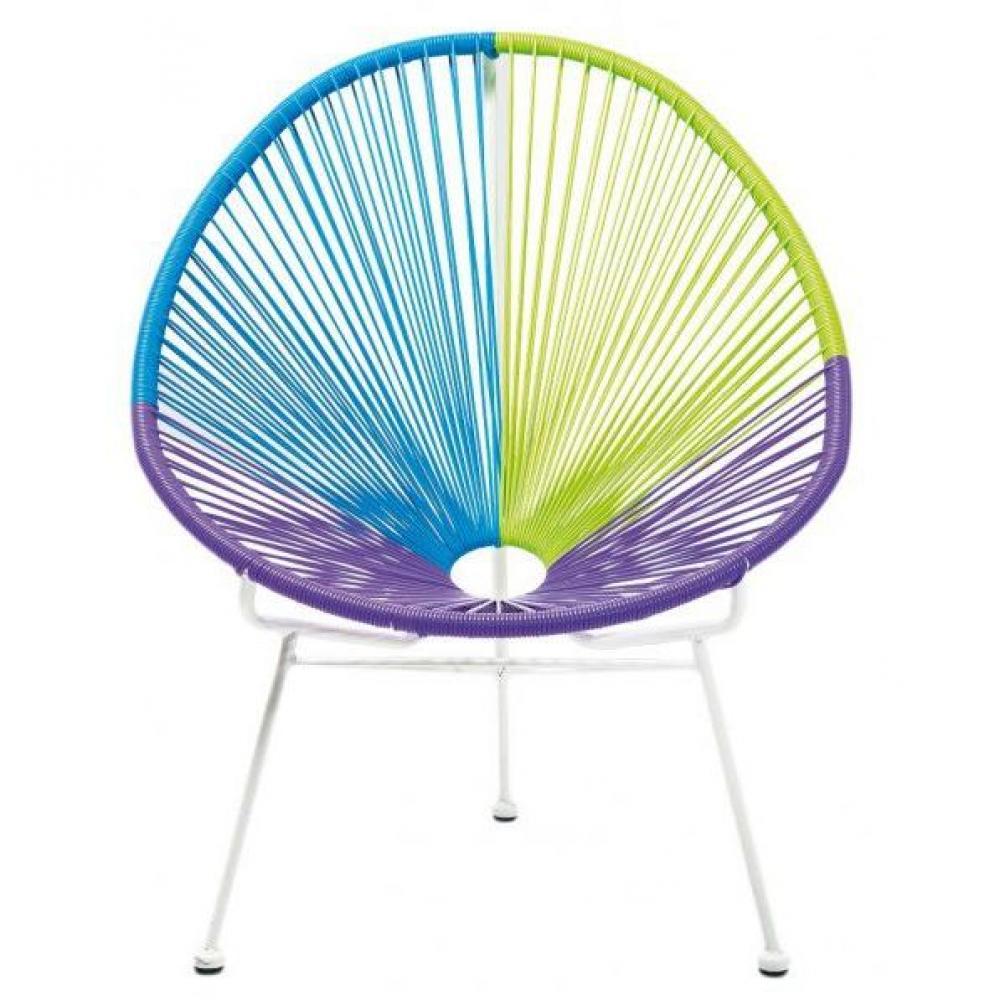 chaises meubles et rangements chaise arlequin violette inside75. Black Bedroom Furniture Sets. Home Design Ideas