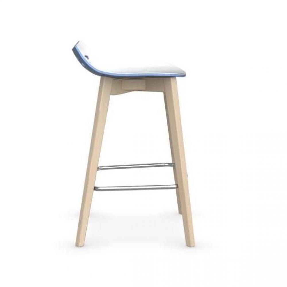 tabouret de bar design tendance retro au meilleur prix tabouret de bar jam w bleu ciel avec. Black Bedroom Furniture Sets. Home Design Ideas
