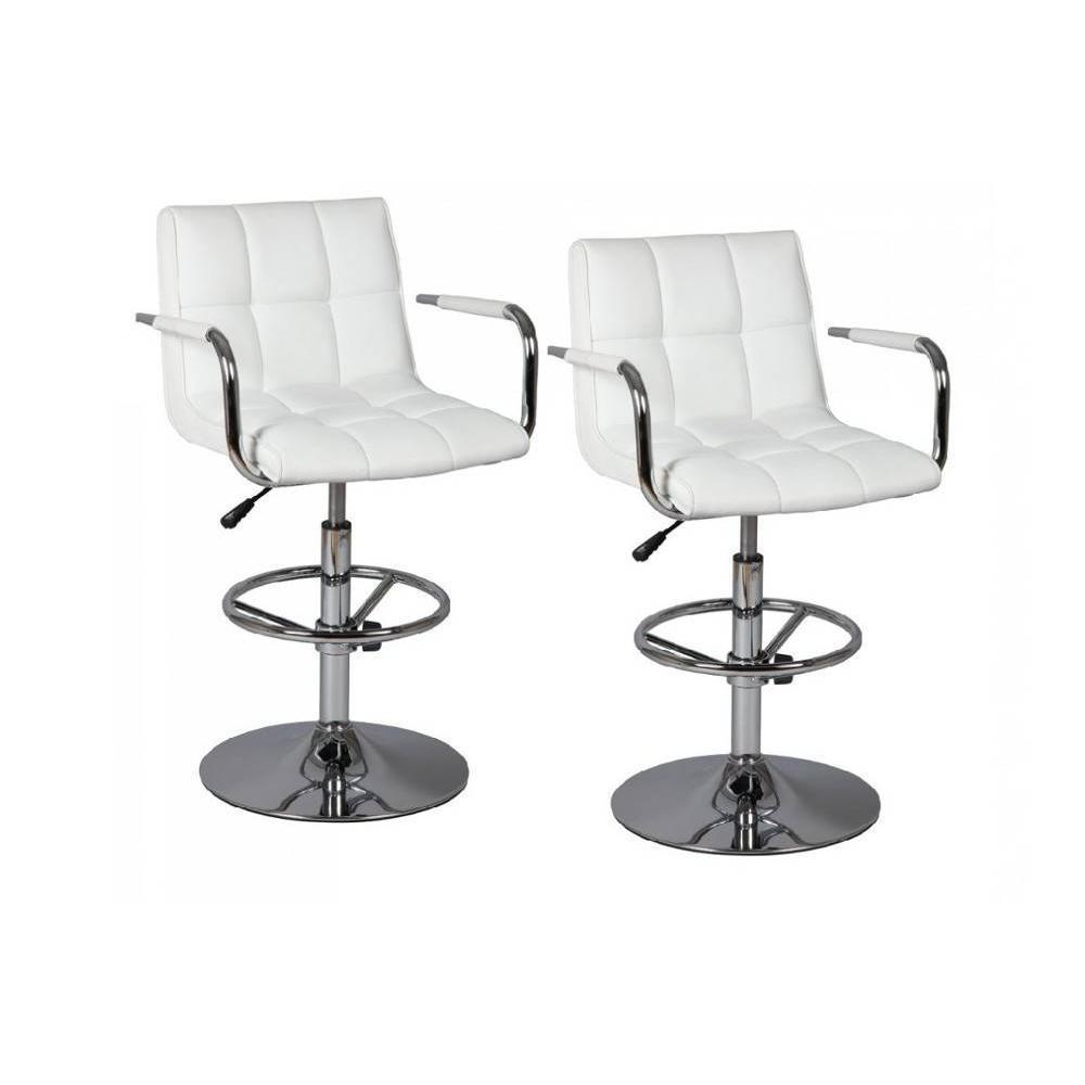 Lot de 2 chaises de Bar DIAMOND