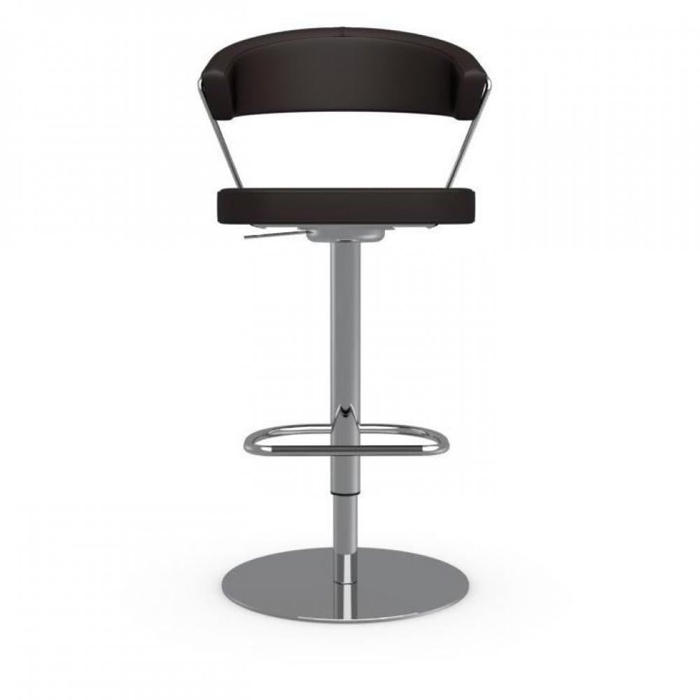 chaise de bar design tendance r tro au meilleur prix chaise de bar new york en cuir cafe. Black Bedroom Furniture Sets. Home Design Ideas